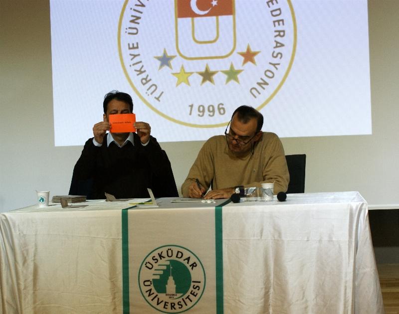 TÜSF seçimi Üsküdar Üniversitesi'nde yapıldı 3