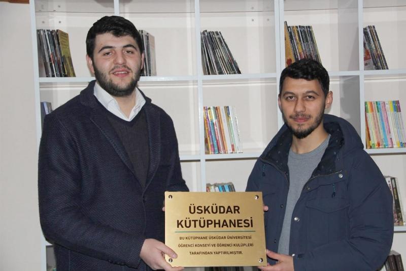Akyazı'ya Üsküdar Üniversitesi Kütüphanesi 2