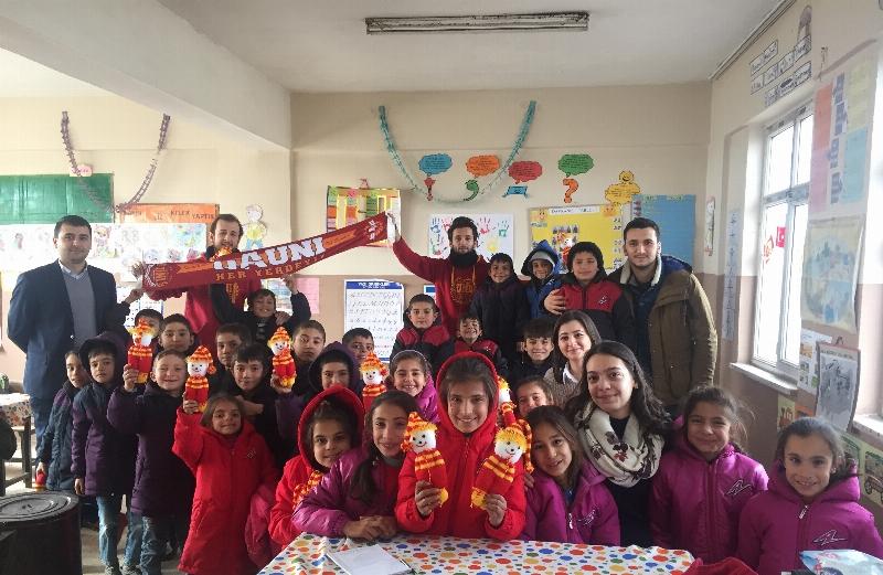 Üsküdarlı öğrenciler öğrenci kardeşleri için şimdi de Şanlıurfa'da 3