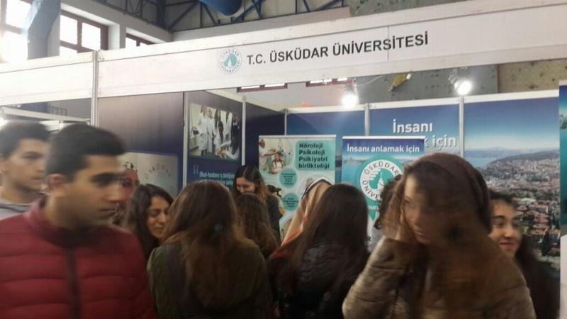 Üsküdar Üniversitesi, Adana'da üniversite  adaylarıyla buluştu