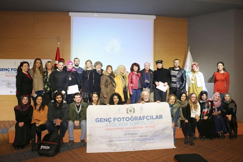Genç fotoğrafçılar Üsküdar'da buluştu