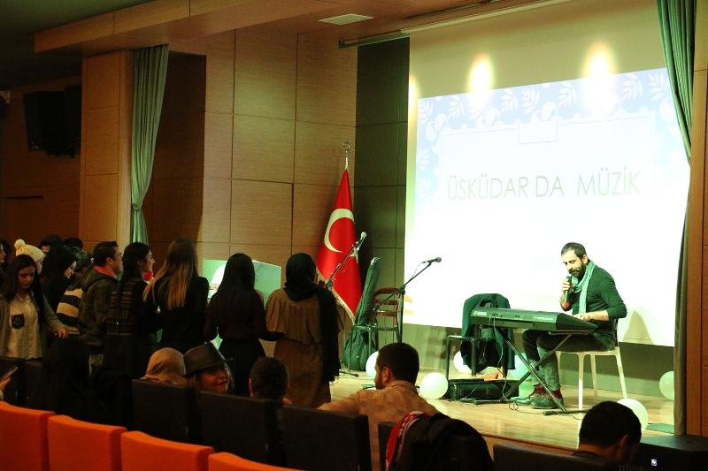 Üsküdar'da müzik coşkusu