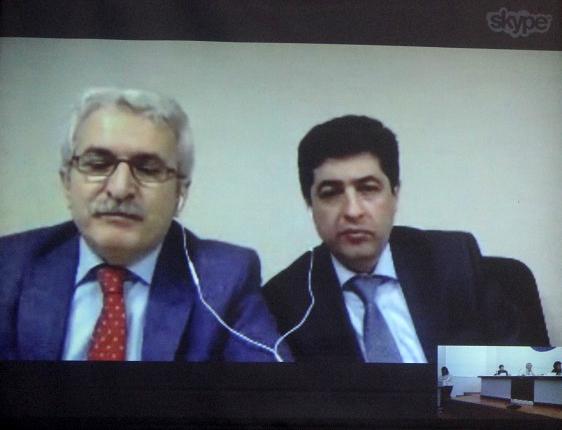 Üsküdar'dan Kazakistan'daki konferansa online bağlantı 2
