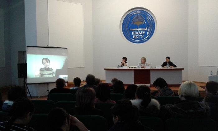 Üsküdar'dan Kazakistan'daki konferansa online bağlantı