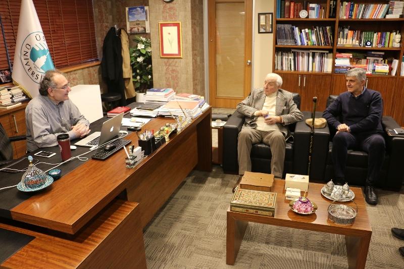 Dr. Hulki Müderrisler'den Üsküdar Üniversitesi'ne anlamlı bağış