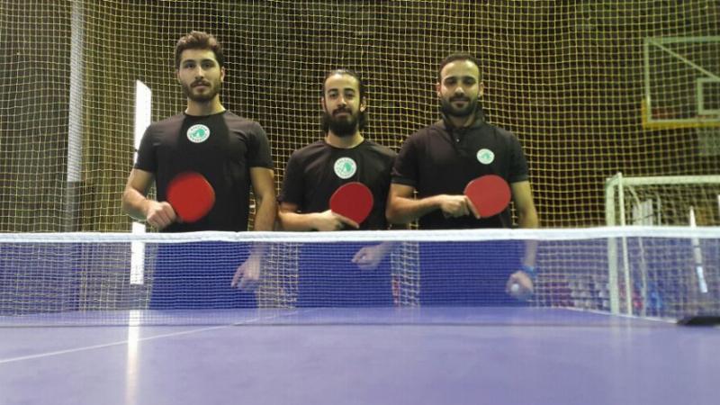 Üsküdar Üniversitesi masa tenisinde de iddialı