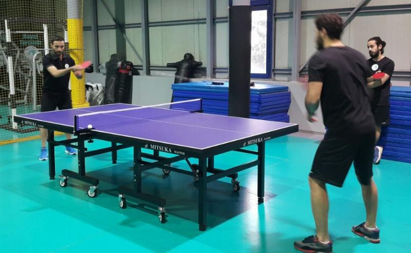Üsküdar Üniversitesi masa tenisinde de iddialı 2