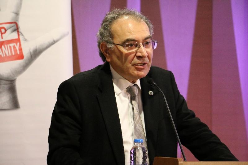 """Prof. Dr. Nevzat Tarhan: """"Savaşın mağduru çocuklar eğitimle geleceği hazırlanır"""" 2"""
