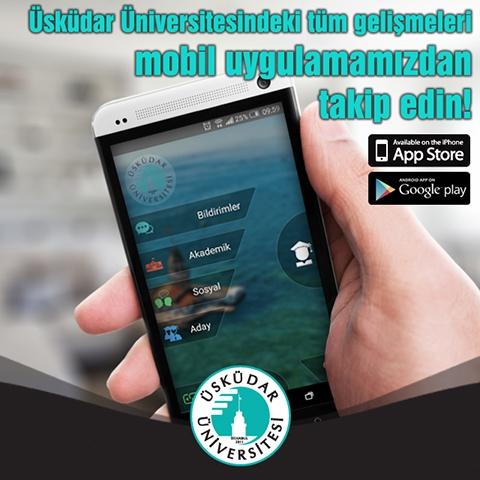 Üsküdar Üniversitesinin mobil uygulamasında rekor kullanım