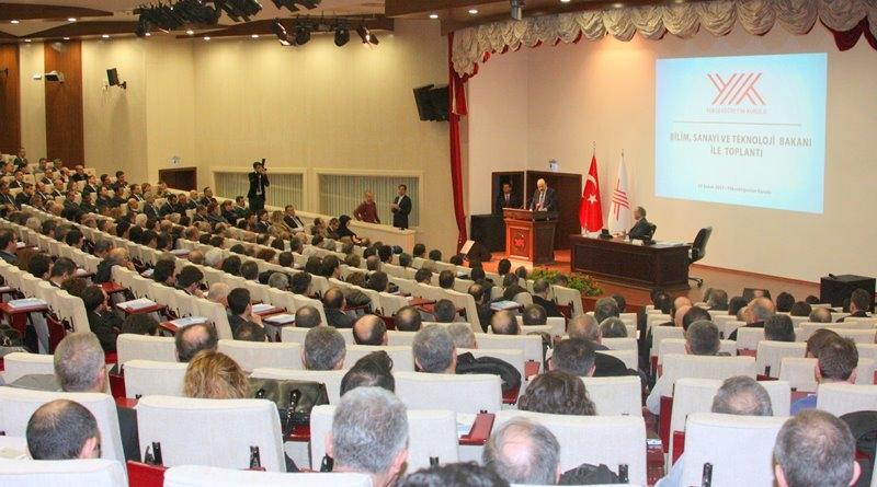 Prof. Dr. Konuk ve Prof. Dr. Uzbay, YÖK Toplantısı'nda