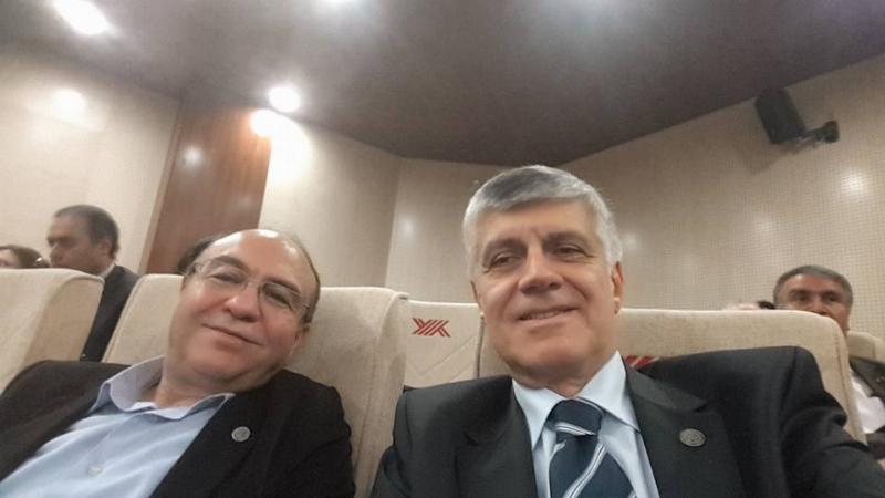 Prof. Dr. Konuk ve Prof. Dr. Uzbay, YÖK Toplantısı'nda 2