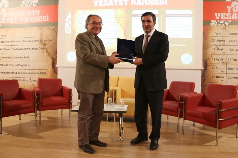 AK Parti Genel Başkan Yardımcısı Cevdet Yılmaz Üsküdar Üniversitesinde konuştu 2