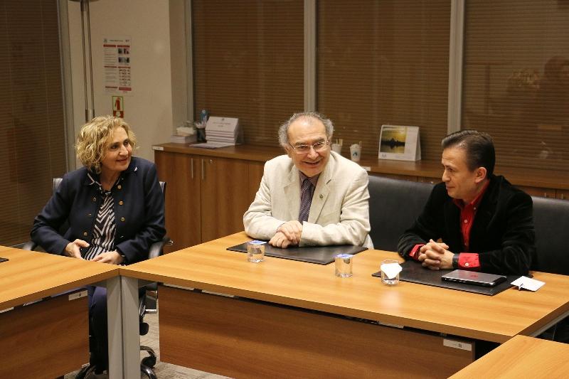Tuzla Belediye Başkanı Dr. Şadi Yazıcı Üsküdar Üniversitesi'ni ziyaret etti 2