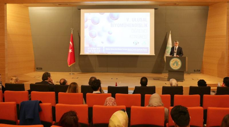 Üsküdar Üniversitesi V. Ulusal Biyomühendislik Öğrenci Kongresi başladı