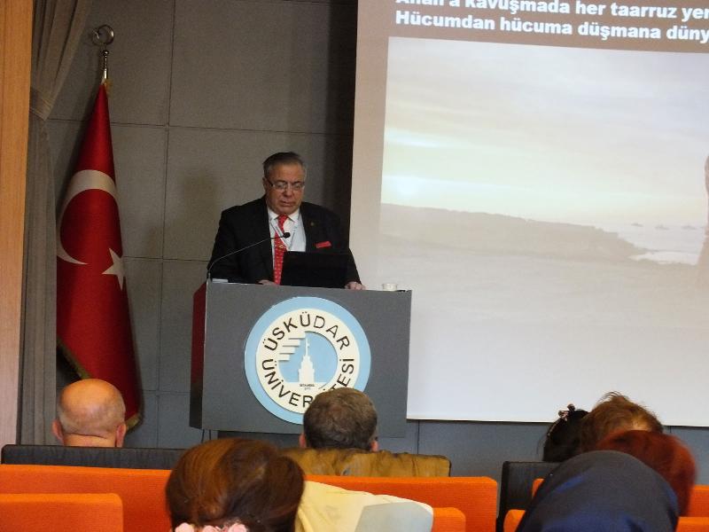 Çanakkale, İstiklal Marşı ve Milli Şair Mehmet Akif Ersoy konuşuldu…
