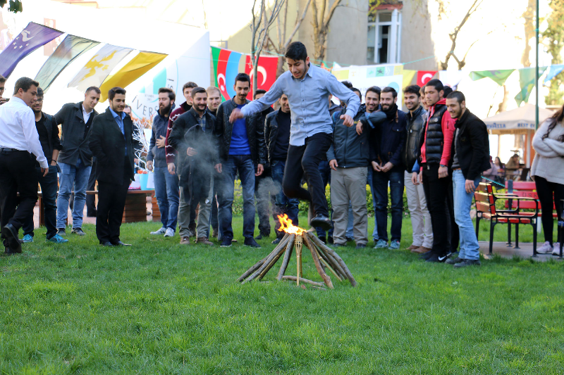 Bahar Bayramı Üsküdar Üniversitesinde kutlandı