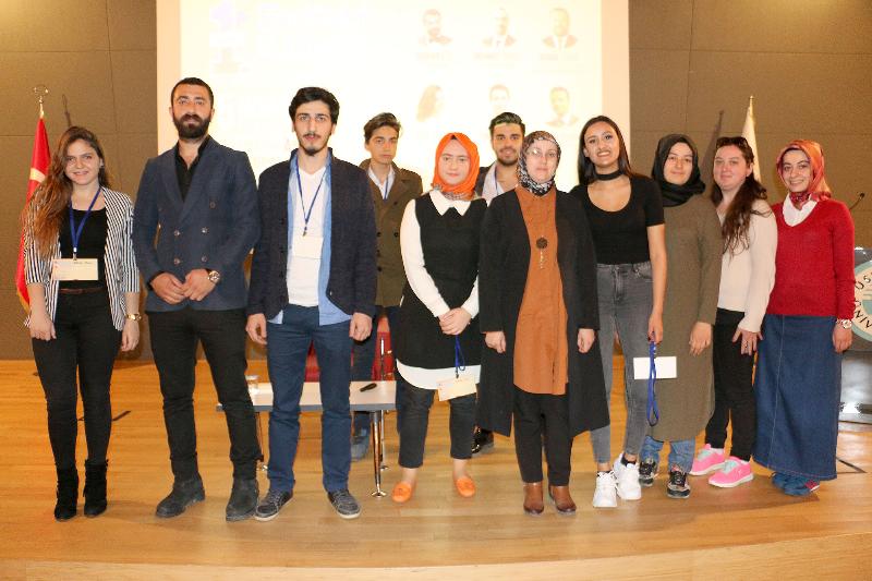 İş dünyasının önemli isimleri başarılarının sırlarını Üsküdar Üniversitesi öğrencileriyle paylaştı