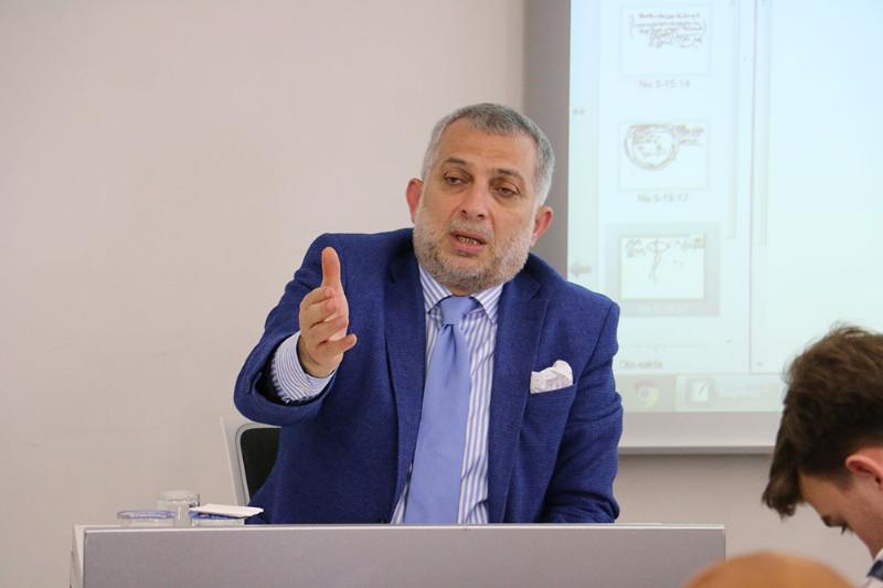 Metin Külünk Üsküdar Üniversitesindeydi