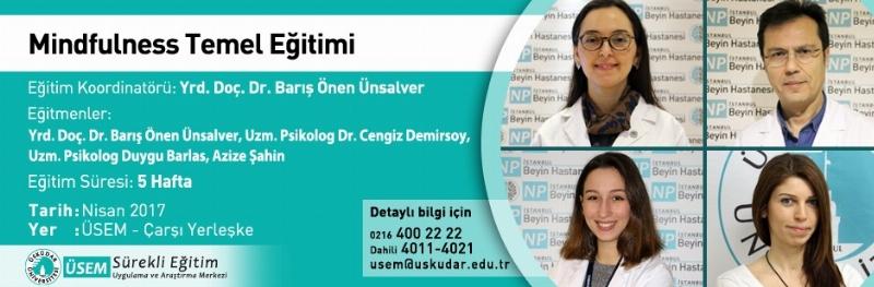Üsküdar Üniversitesi'nde Mindfulness eğitimleri başlıyor
