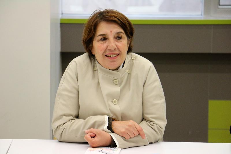 TBMM Başkanvekili Ayşe Nur Bahçekapılı Üsküdar Üniversitesini ziyaret etti