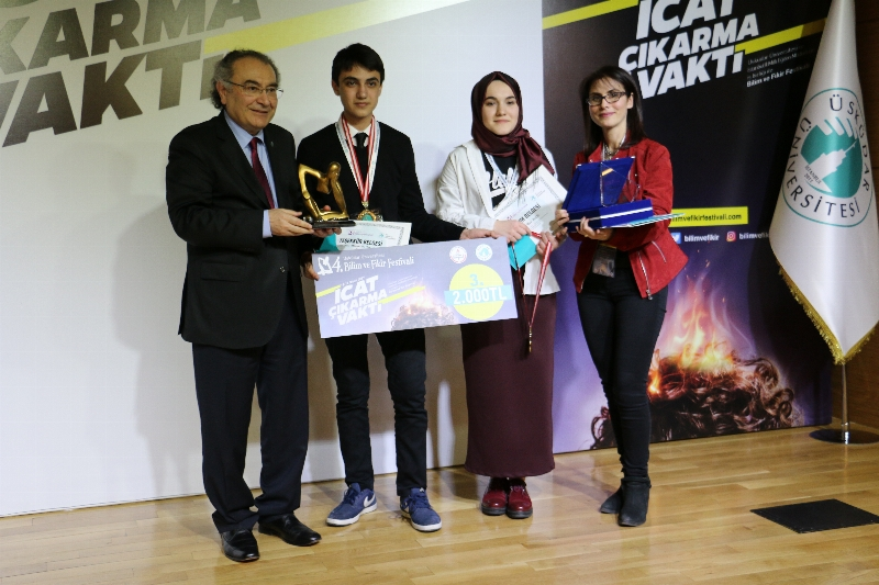 4. Bilim ve Fikir Festivalinde ödüller sahiplerini buldu! 10