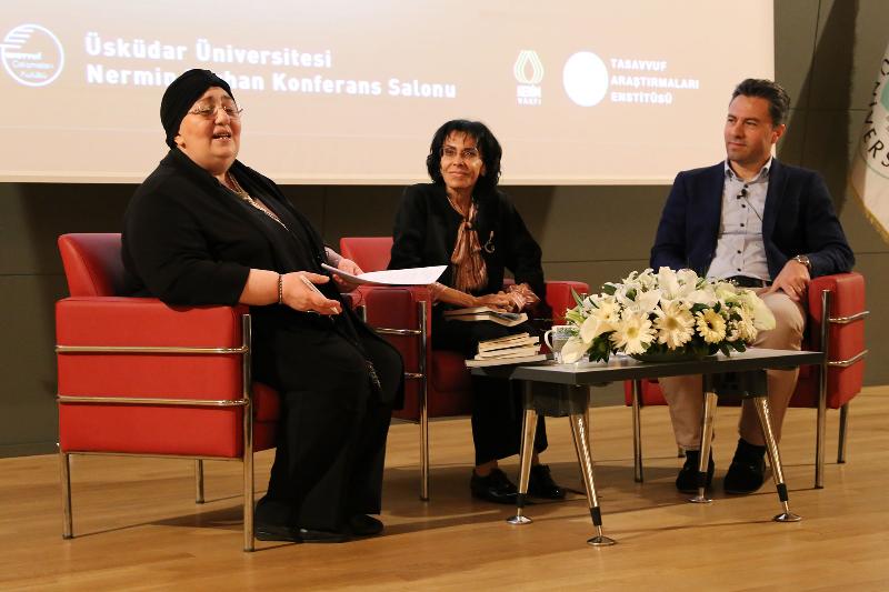 Cemalnur Sargut'un katılımıyla Kutlu Doğum Haftası söyleşisi yapıldı