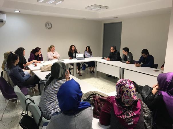 Üsküdar Üniversitesi Ezgi Tüzün'ü konuk etti