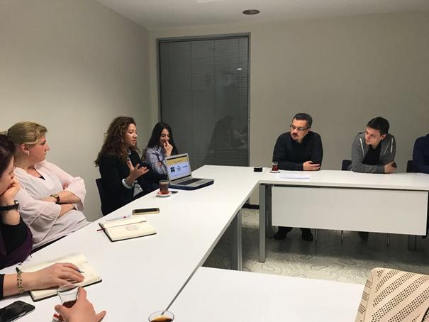 Üsküdar Üniversitesi Ezgi Tüzün'ü konuk etti 2