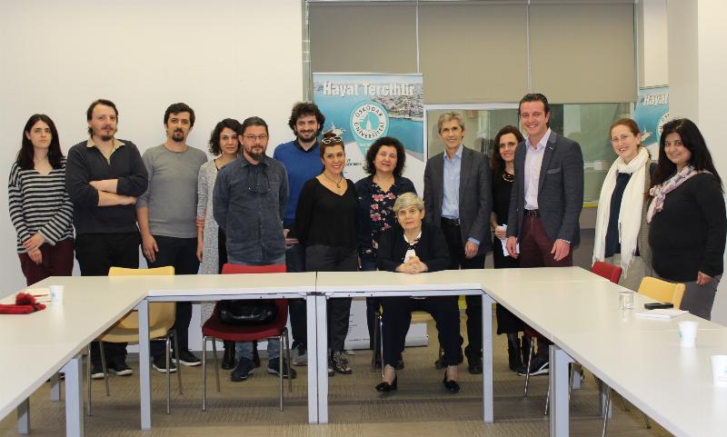 İletişim bilimlerinin duayenlerinden Prof. Dr. Oya Tokgöz  Üsküdar Üniversitesindeydi.