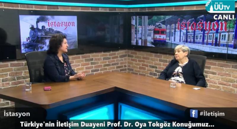 İletişim bilimlerinin duayenlerinden Prof. Dr. Oya Tokgöz  Üsküdar Üniversitesindeydi. 3