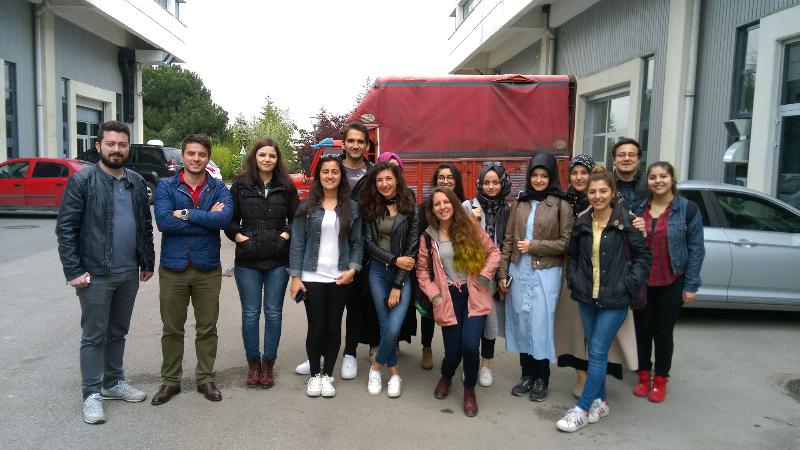 Üsküdarlı öğrenciler GOSB TeknoPark'ı ziyaret etti