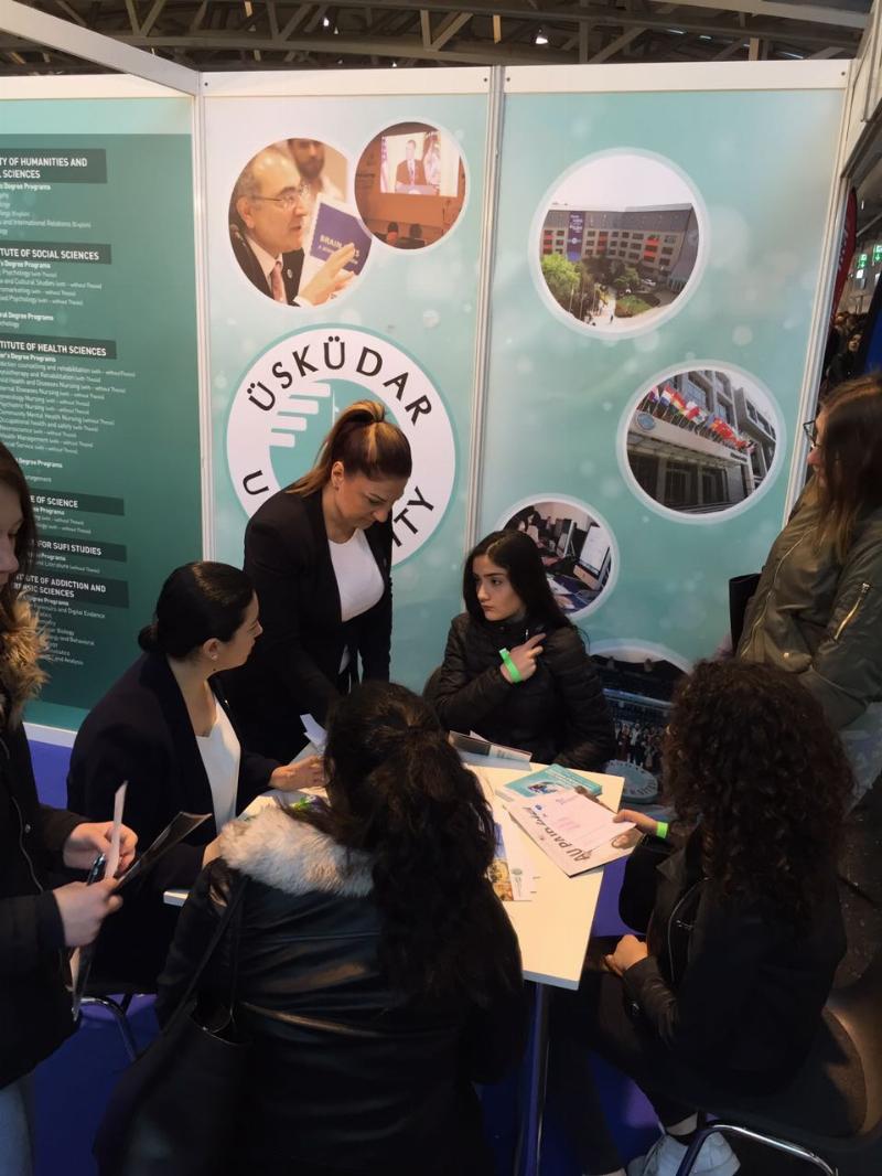 Üsküdar Üniversitesi şimdi de Azerbaycanlı adaylarla bir araya gelecek.
