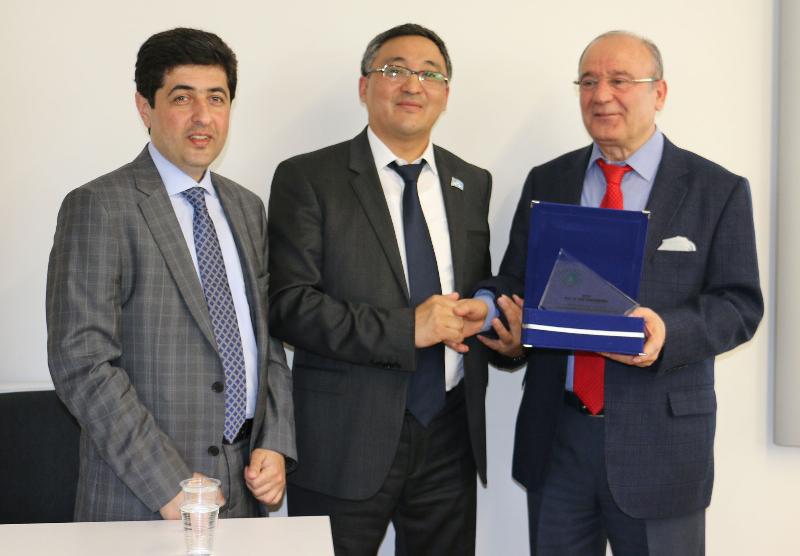 Prof. Dr. Kuat Rakhimberdin Türkiye-Kazakistan dostluğunu ele aldı