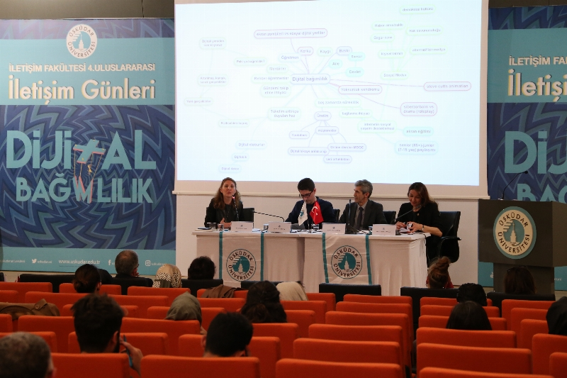 'Dijital bağımlılık' 2 gün süren 4. Uluslararası İletişim Günlerinde tartışıldı. 9