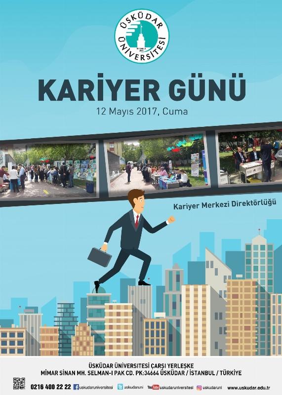 12 Mayıs 2017 Cuma günü, sektörün önde gelen firmalarının katılımıyla gerçekleşecek olan Kariyer Günü etkinliğimize davetlisiniz.