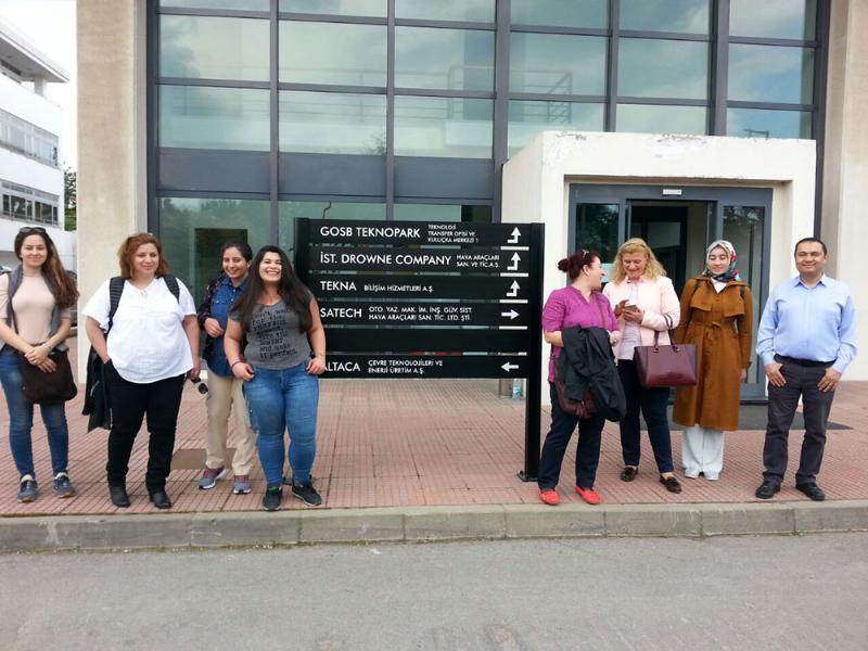 Üsküdarlı öğrencilerin GOSB TeknoPark'ı ziyaretleri devam ediyor