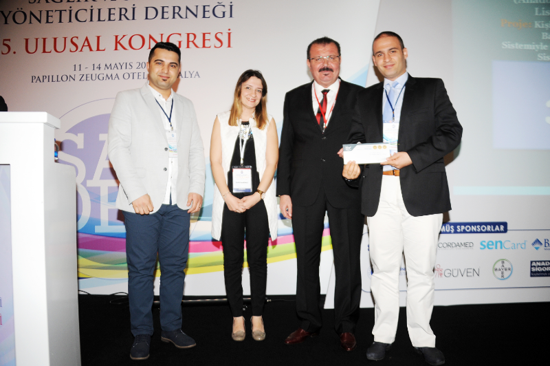 Acil servislere akıllı sistem projesi ödül getirdi