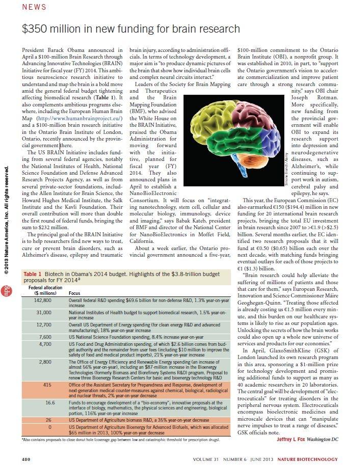 Beyin Girişimi Projesi 4. yılında