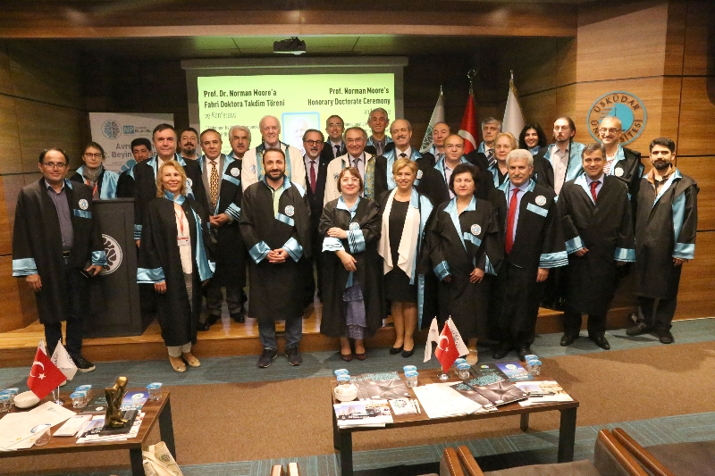 American Psychiatrist Prof. Moore received Honorary Doctorate from Üsküdar University 5