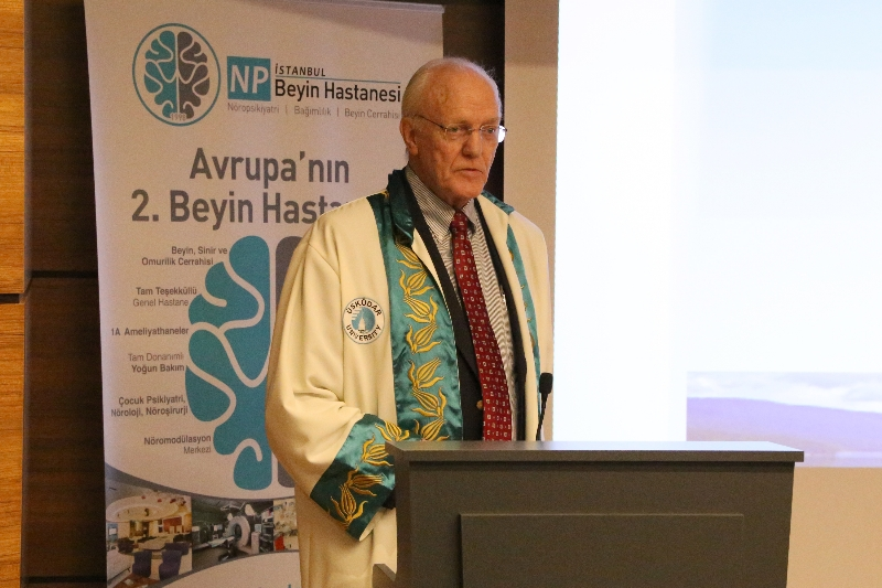 American Psychiatrist Prof. Moore received Honorary Doctorate from Üsküdar University 3