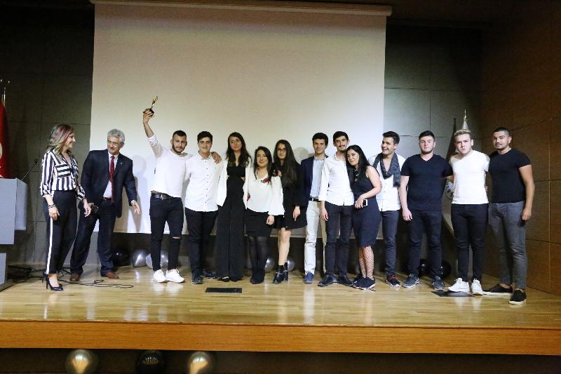Dizi oyuncuları jüri oldu, öğrenciler filmleriyle yarıştı