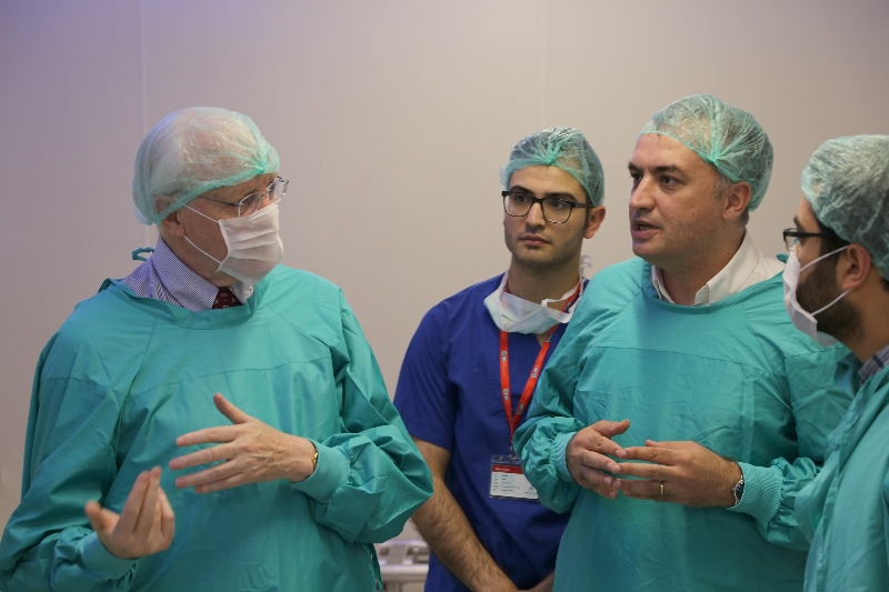 """Prof. Norman Moore: """"This hospital has taken the lead in the World"""""""
