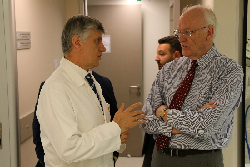 """Prof. Norman Moore: """"This hospital has taken the lead in the World"""" 6"""