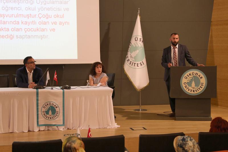 Rehberlik uzmanları yılsonu toplantısını Üsküdar Üniversitesinde yaptı