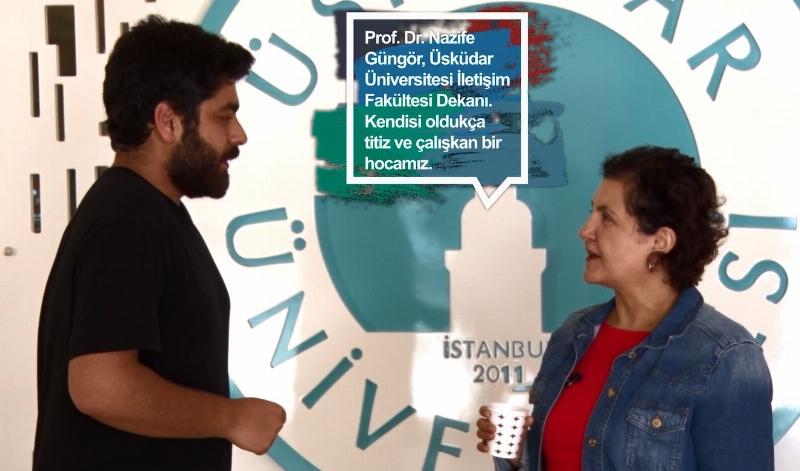 İletişim Fakültesini iletişim öğrencileri çektikleri video ile anlattı…