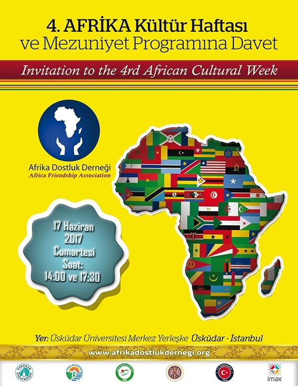 4. Afrika Kültür Haftası Programına Davet