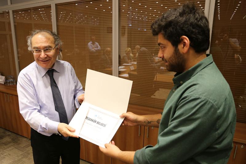 Genç sinemacıya Prof. Dr. Nevzat Tarhan'dan teşekkür 3
