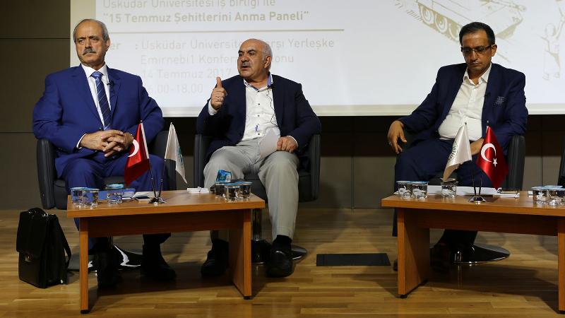 Üsküdar Üniversitesi 15 Temmuz Destanı Paneli'ne ev sahipliği yaptı