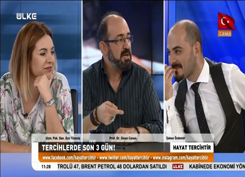 """Prof. Dr. Sinan Canan: """"Sevdiğinizi seçecek ya da seçtiğinizi seveceksiniz"""""""