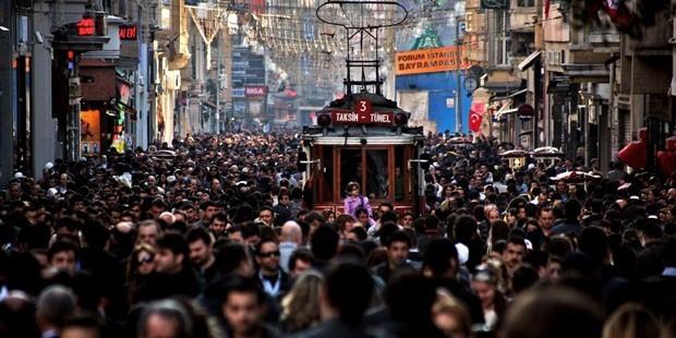 Şehir hayatı stres düzeyini yükseltti